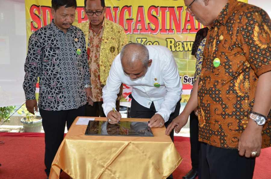 Wali Kota Bekasi Resmikan Gedung Sekolah SDN Pengasinan 9 Kota Bekasi