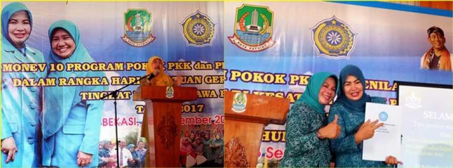 Monev 10 Program PKK Tingkat Provinsi Jawa Barat Tahun 2017