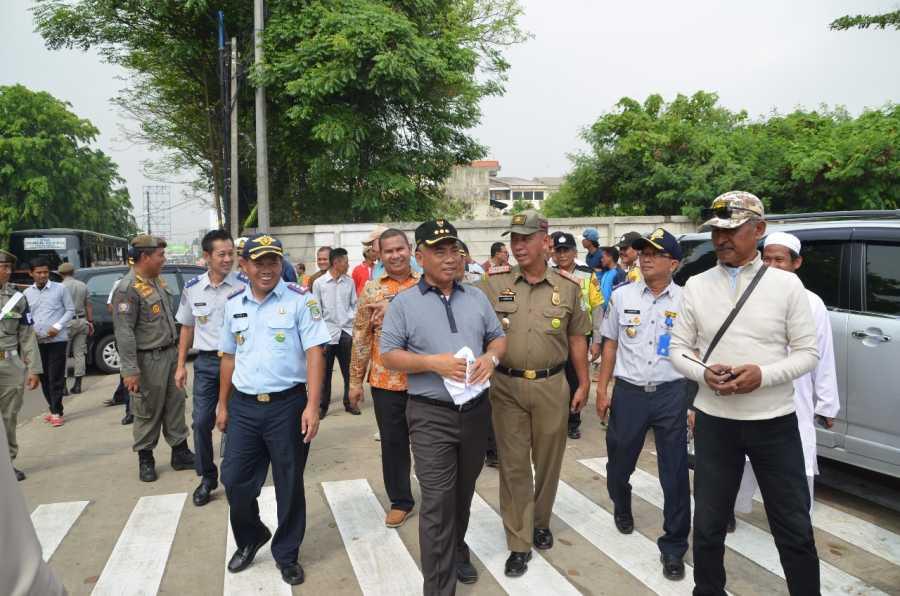 Wali Kota Tempuh 3 Km Untuk Lihat Sarana dan Prasaranan Fasilitas Umum Sepanjang Jalan Ir, H. Juanda