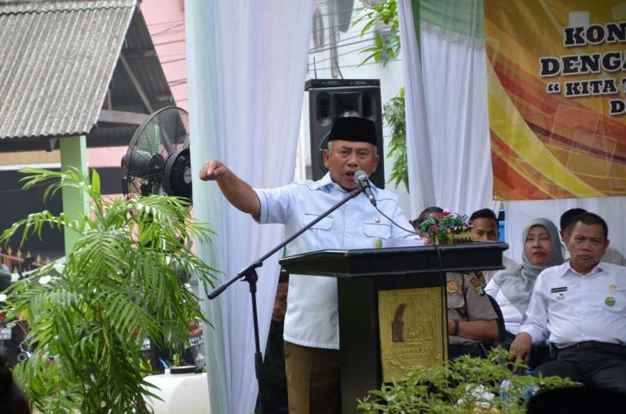 Wali Kota Bekasi Temu Komunikasi Dengan Warga Wilayah Kec Bekasi Barat dan Kec Bekasi Selatan