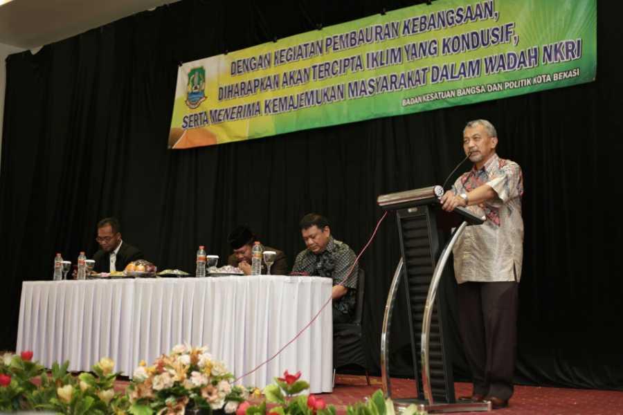 Wawali Ahmad Syaikhu Harapkan Pemuda Sikapi Dewasa Pluralisme di Kota Bekasi
