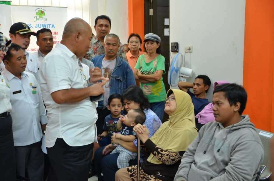 Wali Kota Bekasi Kunjungi Puskesmas Jatibening Untuk Lihat
