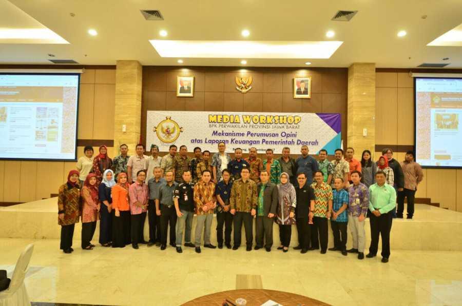 BPK Jabar  Gelar Workshop Libatkan Humas dan Media