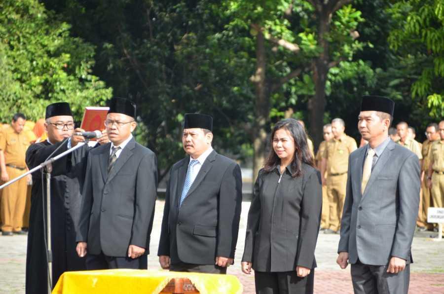 Wali Kota Bekasi Lantik Dirut dan Badan Pengawas PD. Mitra Patriot Kota Bekasi