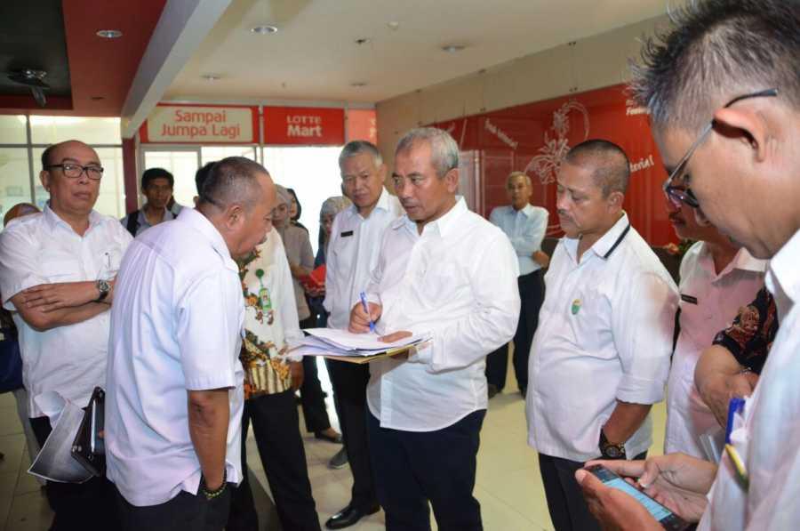 Meninjau Lokasi Sentra Pelayanan, Wali Kota harap pembanguna Sarana Sentra Pelayanan Di prioritaskan