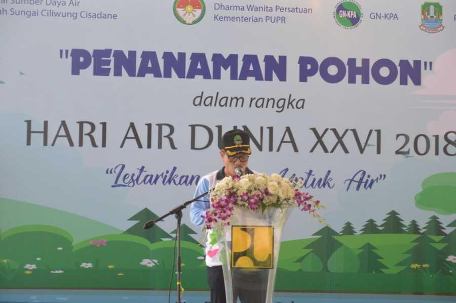 Peringati Hari Air Pj.Wali Kota Bekasi Apresiasi Gerakan DWP Kementrian PUPR