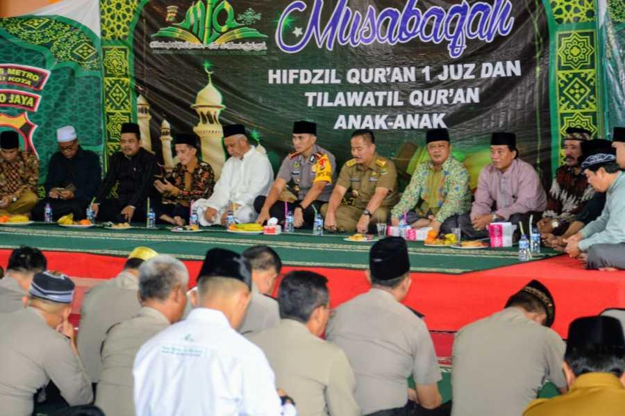 Evaluasi Hasil MTQ Tingkat Jabar Pj. Wali Kota Bekasi Hadiri Hafidzil Qur'an