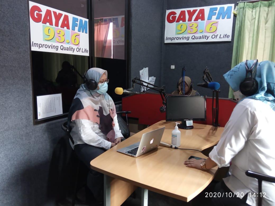Talkshow Pengaduan Publik Bersama Diskominfostandi Kota Bekasi