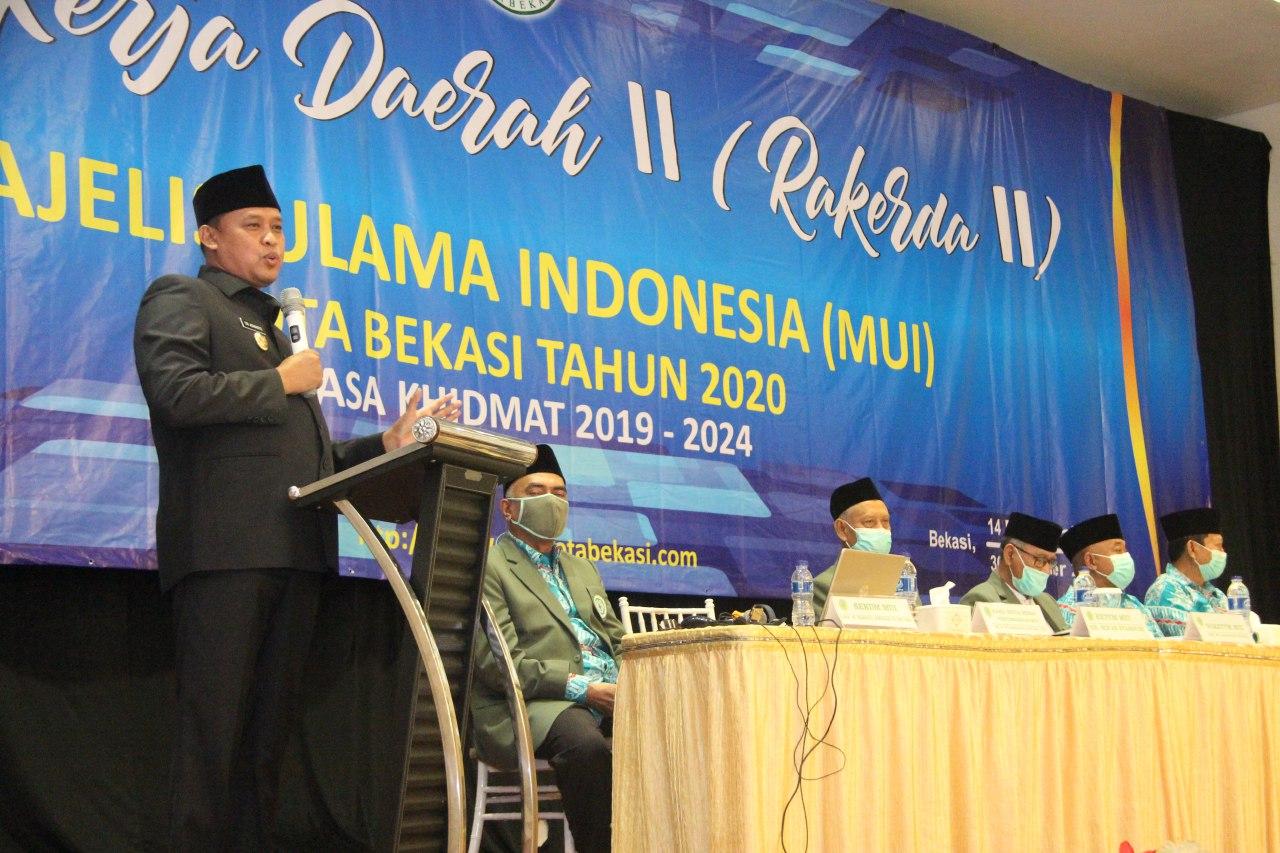 MAJELIS ULAMA INDONESIA KOTA BEKASI GELAR RAPAT KERJA DAERAH II