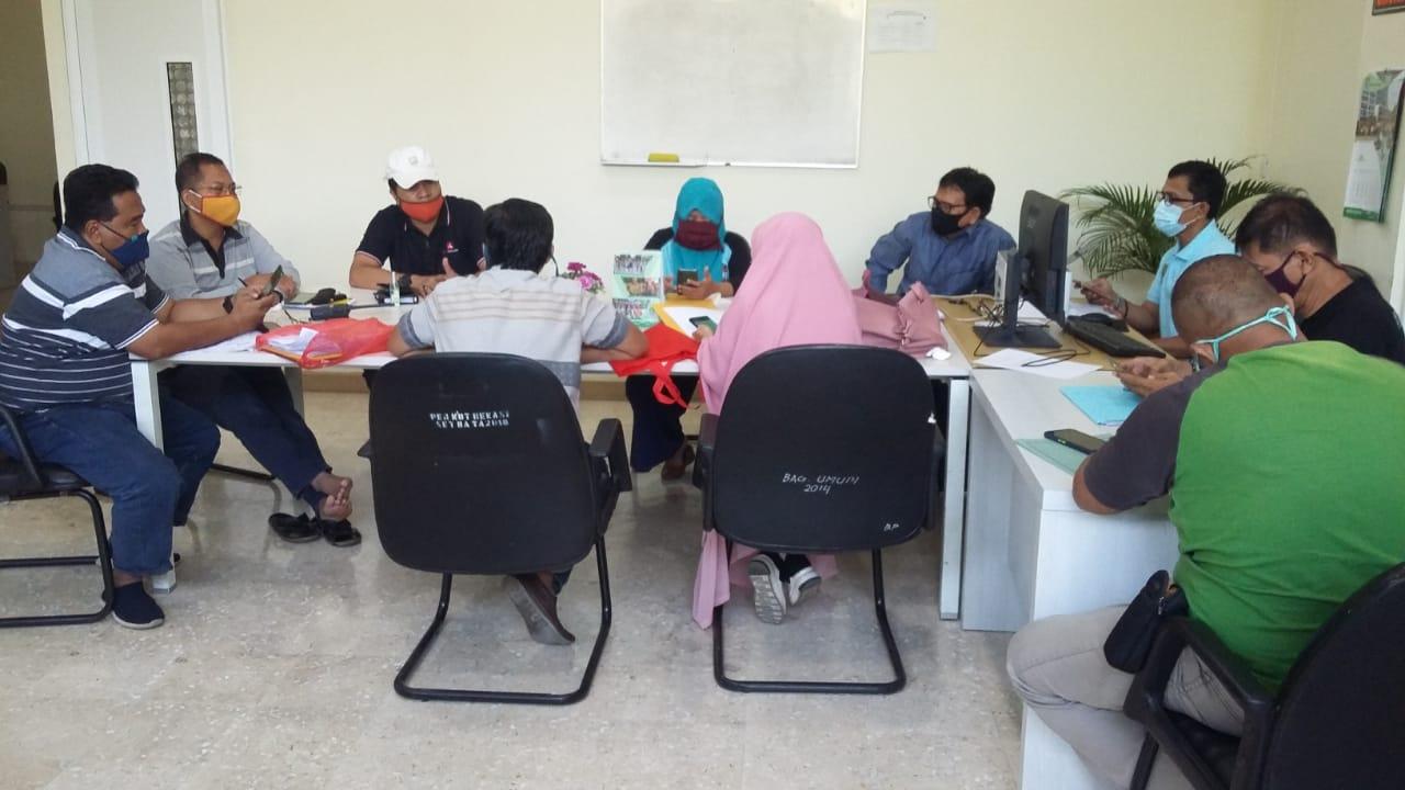 TIM Wil II Adakan Rapat Pelaksanaan Sholat Ied Pada Kelurahan Masuk Zona Hijau