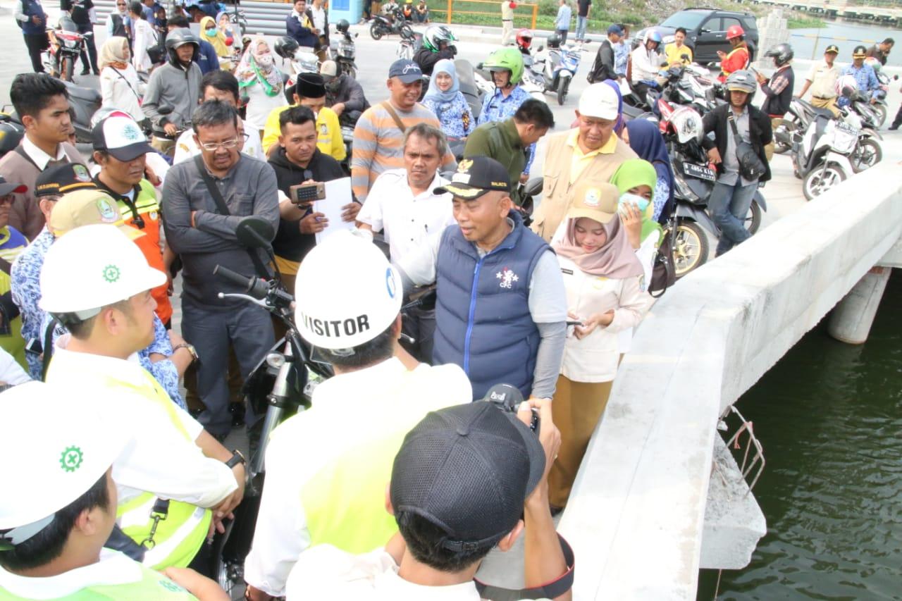 Program 100 Hari Kerja Wali Kota di 3 Kecamatan  Jadi Titik Habis Kunjungan Lapangan