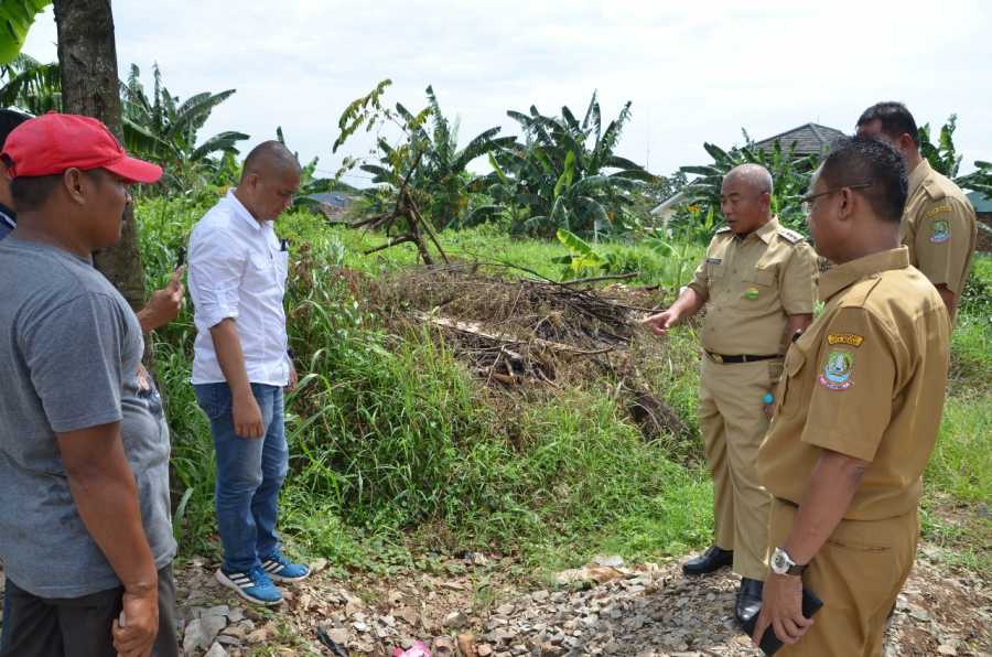 Dapat Laporan Warga Tentang Proyek Pipa SPAM, Wali Kota Sidak Titik Eks Lokasi Penanaman Pipa