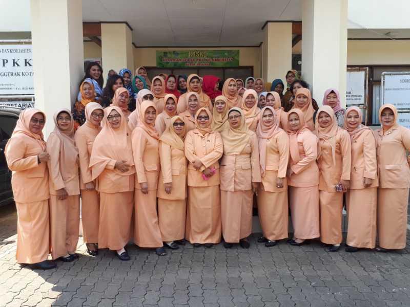 DWP Itko DKI Jakarta lakukan silaturahmi ke DWP Kota Bekasi