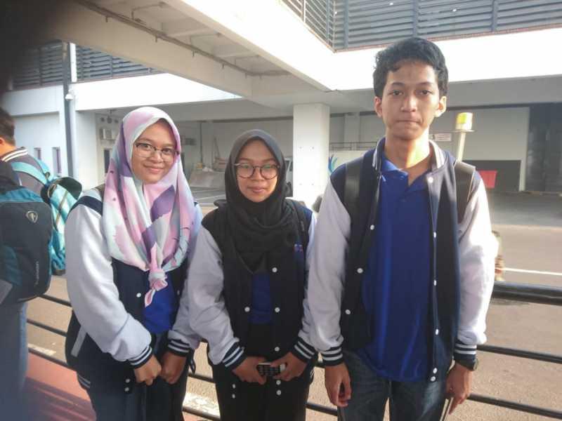 Wakili Jabar, Lima Pelajar Kota Bekasi Ikuti OSN di Padang