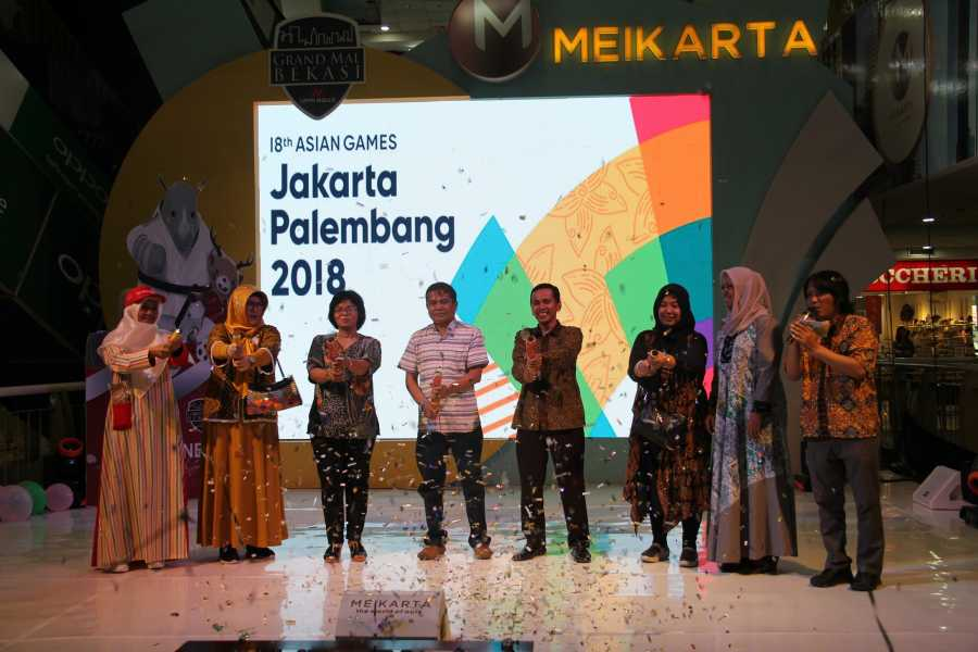 Grand Mal Bekasi Helat Ceremonial Asian Games 2018