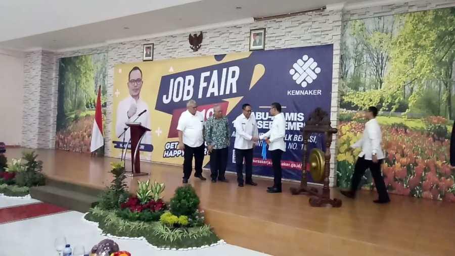 Kemnaker Buka Job Fair 2018 Selama Dua Hari di Kota Bekasi