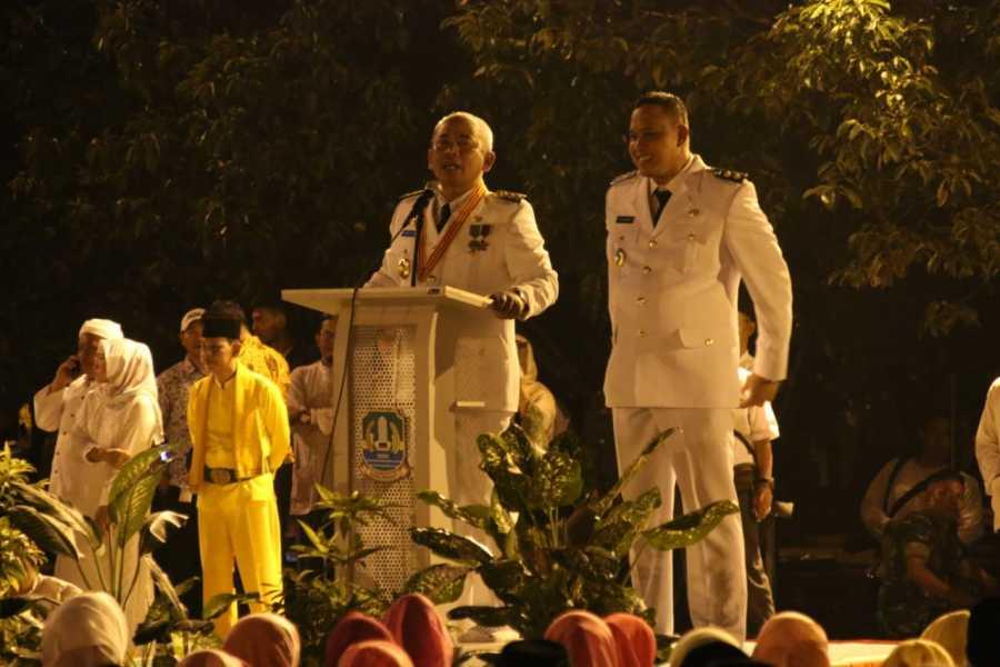 Warga Kota Bekasi Sambut Meriah Kembalinya Rahmat Effendi