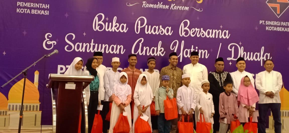 Wakil Wali Kota Hadiri Undangan Buka Puasa Bersama PT. Sinergi Patriot Kota Bekasi.