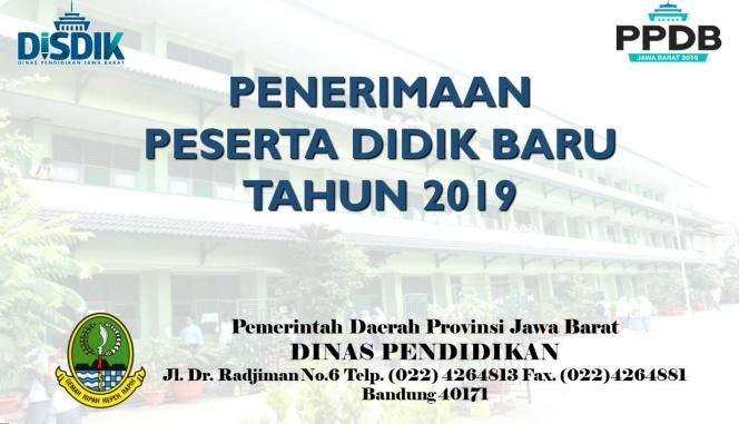 Pemkot Bekasi Dukung Pelaksanaan PPDB 2019 Tingkat SMA, SMK, SLB Se Jabar