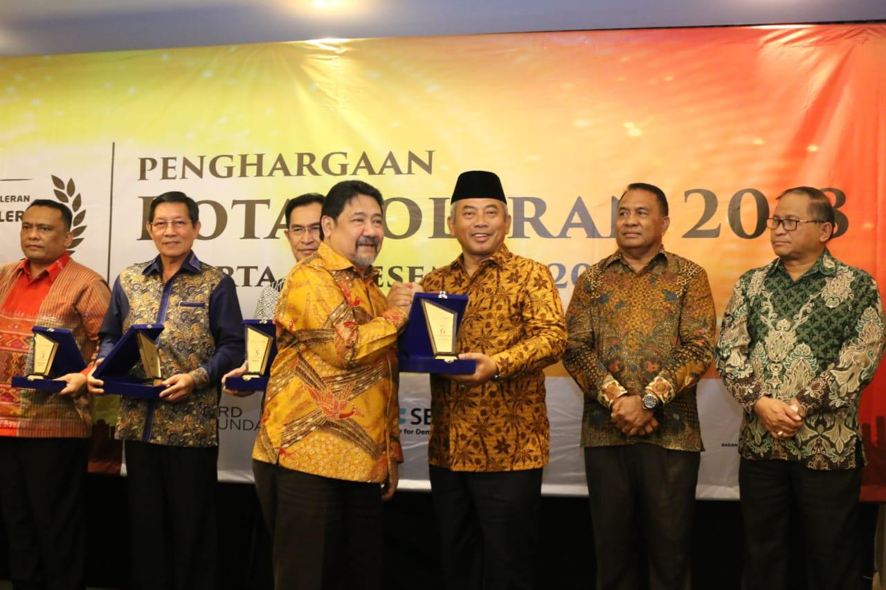 Kota Bekasi Raih Predikat ke 6 Kota Toleran di Indonesia