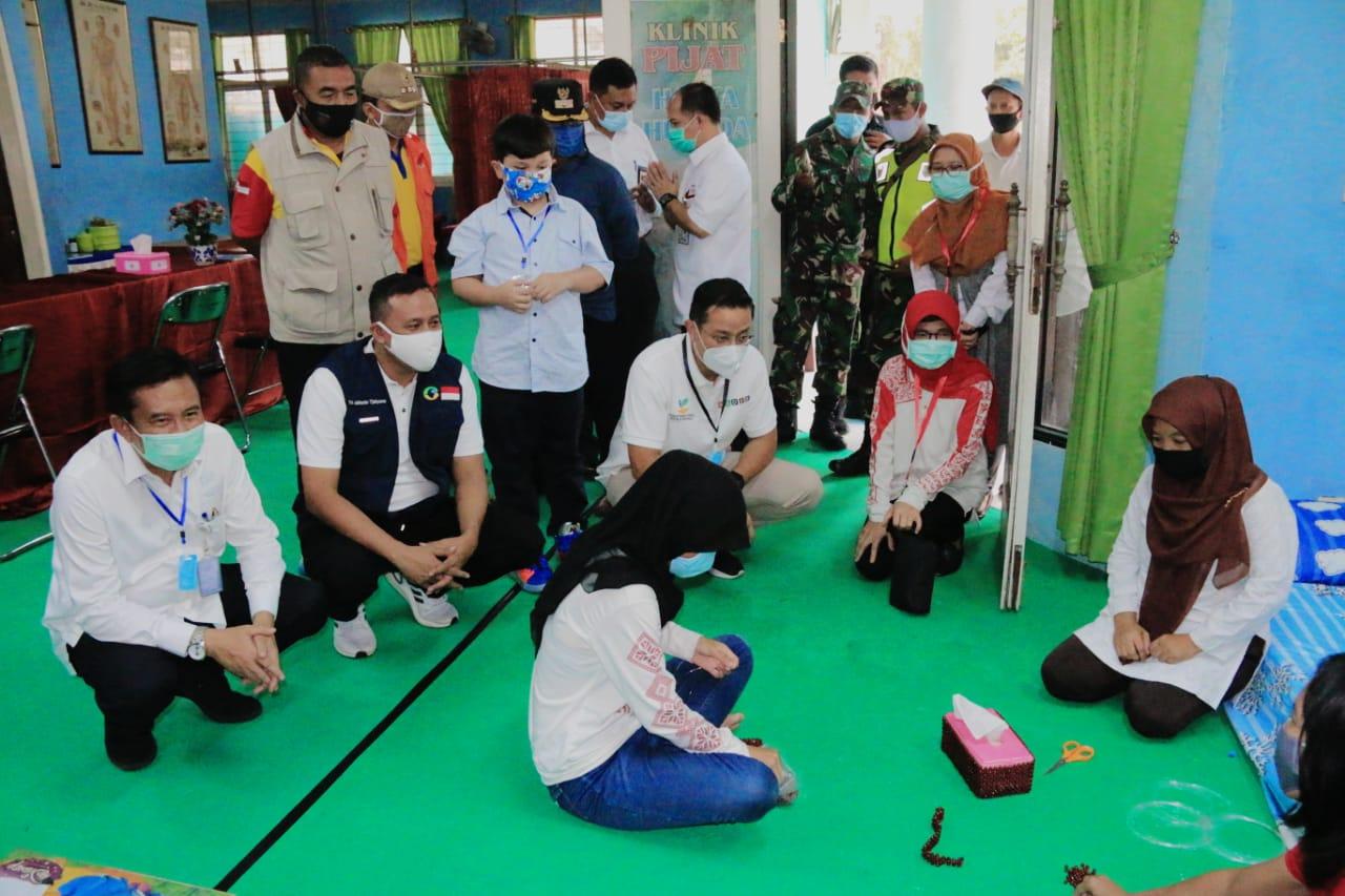 Wakil Wali Kota Dampingi Menteri Sosial Tinjau Panti Sosial Tresna Werdha Bulak Kapal