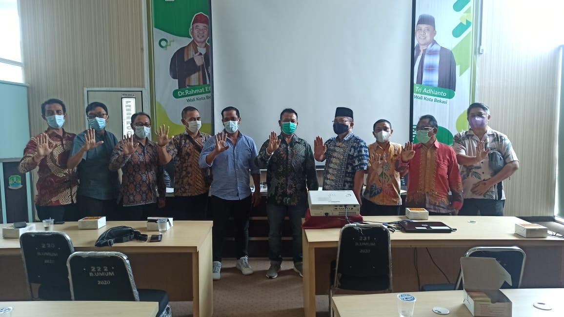 Kepala Dinas Koperasi dan UKM Terima kunjungan Kerja DPRD Kabupaten Klungkung, Provinsi Bali