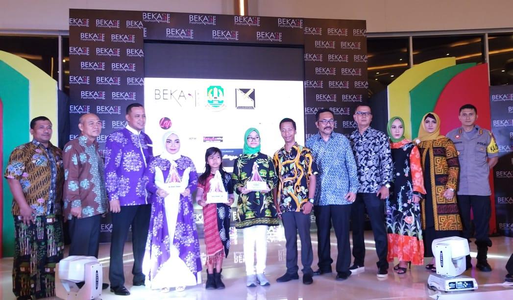 Wakil Wali Kota Bekasi Melaunching Bekasi Fashion Week