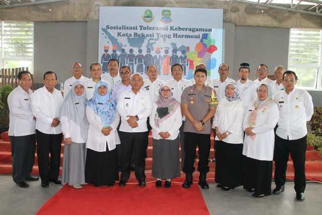Road Show Sosialisasi Keberagaman Toleransi Keberagaman Kota Bekasi Bagi Guru di Kota Bekasi
