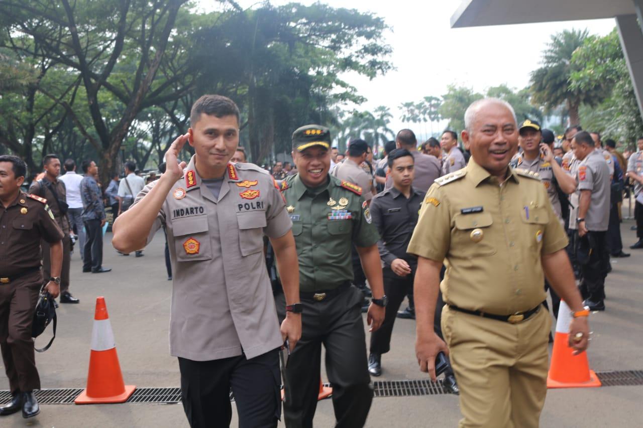 Forkopimda Kota Bekasi Kompak Hadiri Rakornas Sinergi Untuk Indonesia Maju