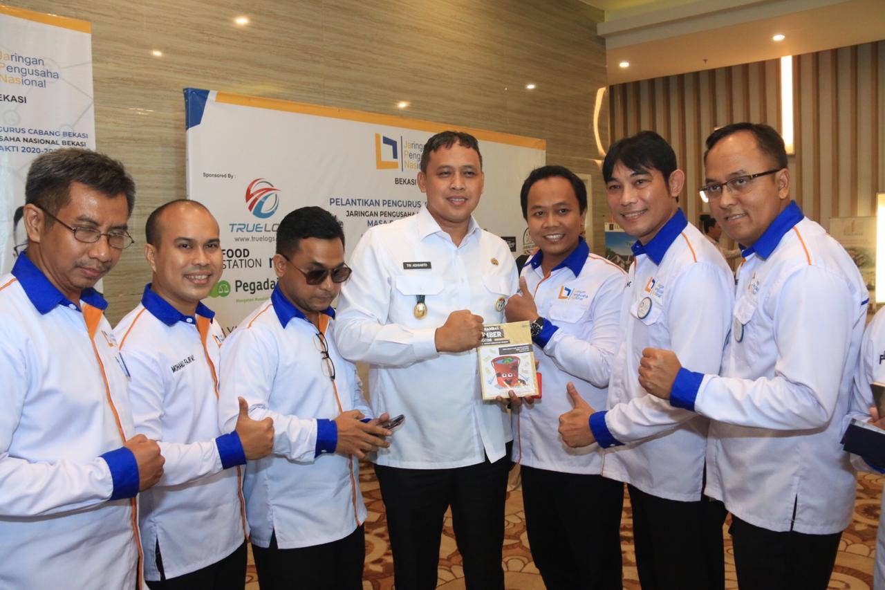 Wakil Wali Kota Bekasi Dr. Tri Adhianto Tjahyono Menghadiri Pelantikan Pengurus Cabang Bekasi