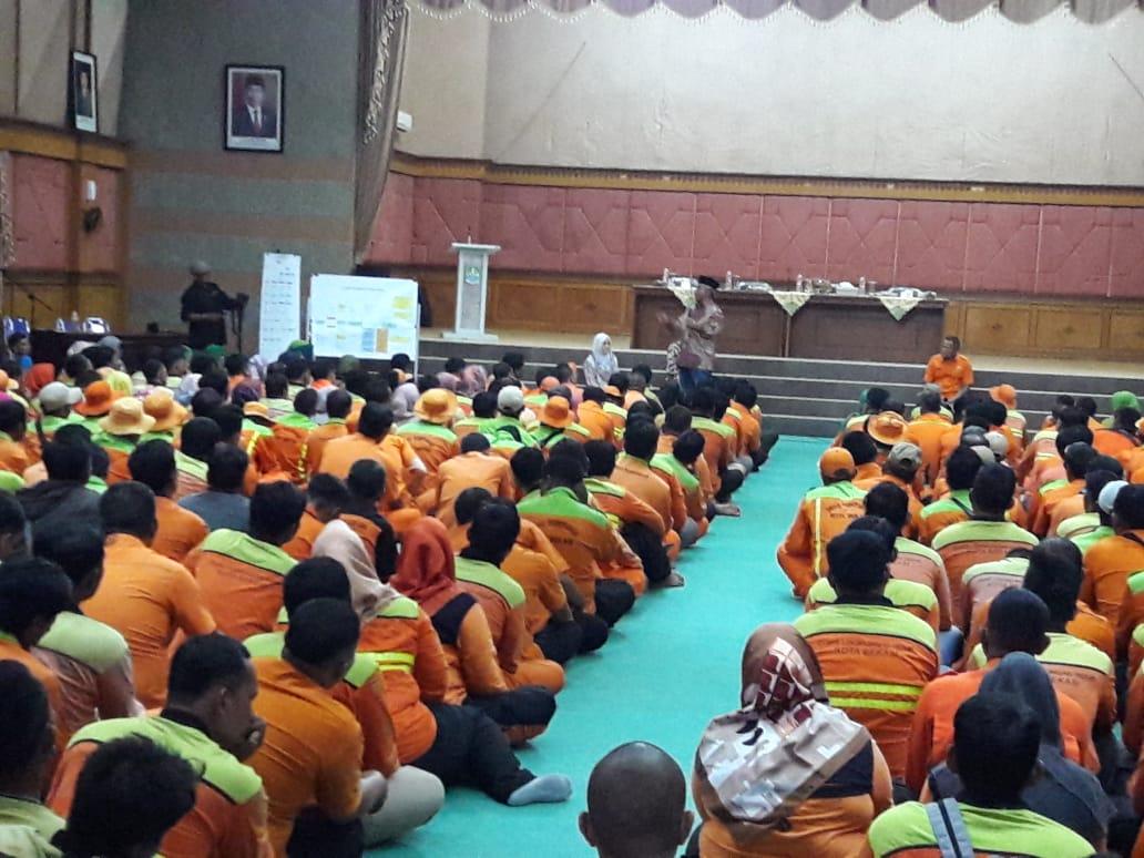 Wali Kota Bekasi Beri Pembinaan Aparatur Dinas Lingkungan Hidup