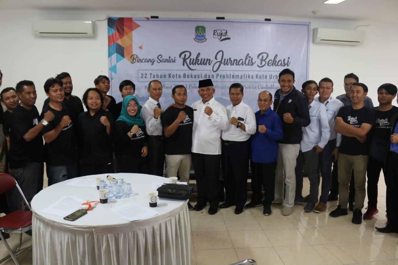 Walikota Bekasi Rahmat Effendi Apresiasi Bincang Santai Rujuk Bekasi