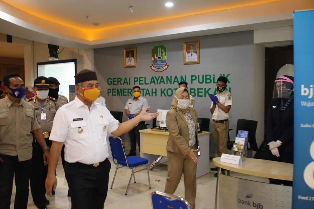 Wali Kota Bekasi Pastikan MPP Plaza Cibubur Siap Kembali Dibuka