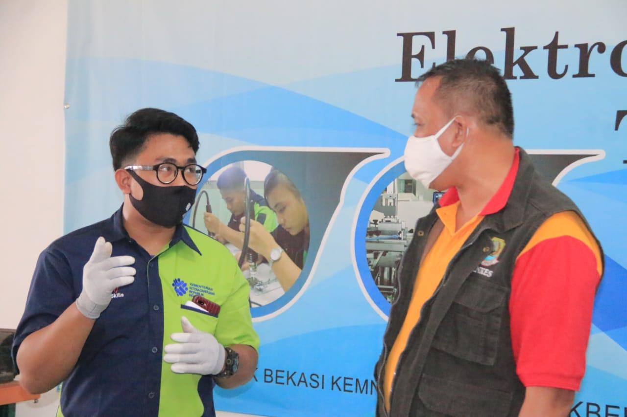 Wakil Wali Kota Tri Adhianto Berkunjung ke Balai Besar Pengembangan Latihan Kerja (BBPLK)