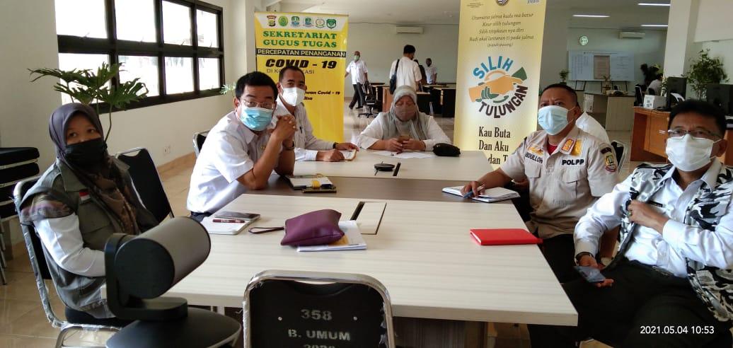 PemProv DKI Jakarta Gelar Rakor Pembatasan dan Penanganan Mobilisasi Warga pada libur Hari Raya