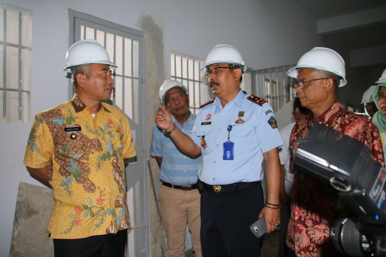 Wali Kota Bekasi Pantau Pembangunan Lapas Kelas 2A Bulak Kapal