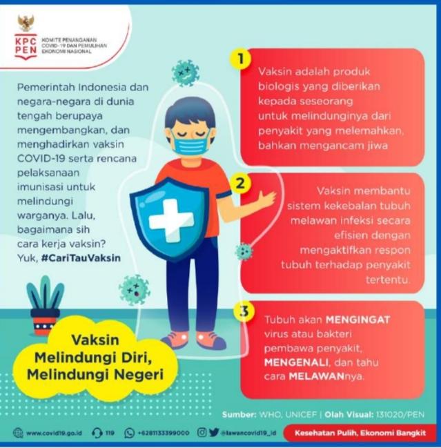 Wali Kota Bekasi Berharap Warga Kota Bekasi Dukung Program Vaksinasi Nasional