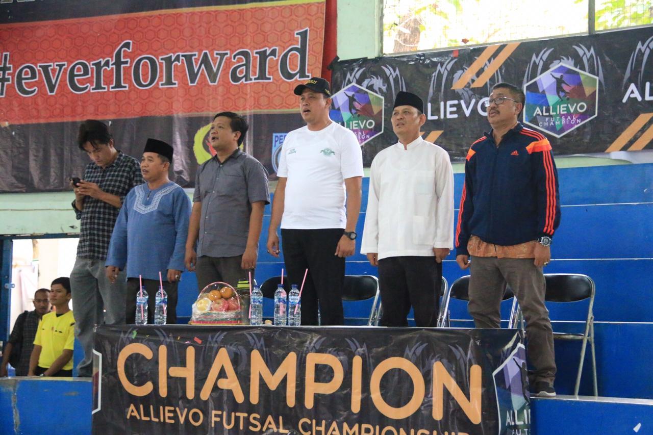 Wakil Wali Kota Bekasi, Tri Adhianto Buka Turnamen Futsal Antar Pelajar Kota Bekasi
