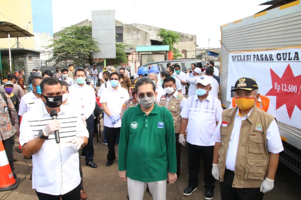 Menteri Perdagangan RI Bersama Wali Kota Bekasi Tinjau Kestabilan Harga Pasar Baru Pasca Idul Fitri