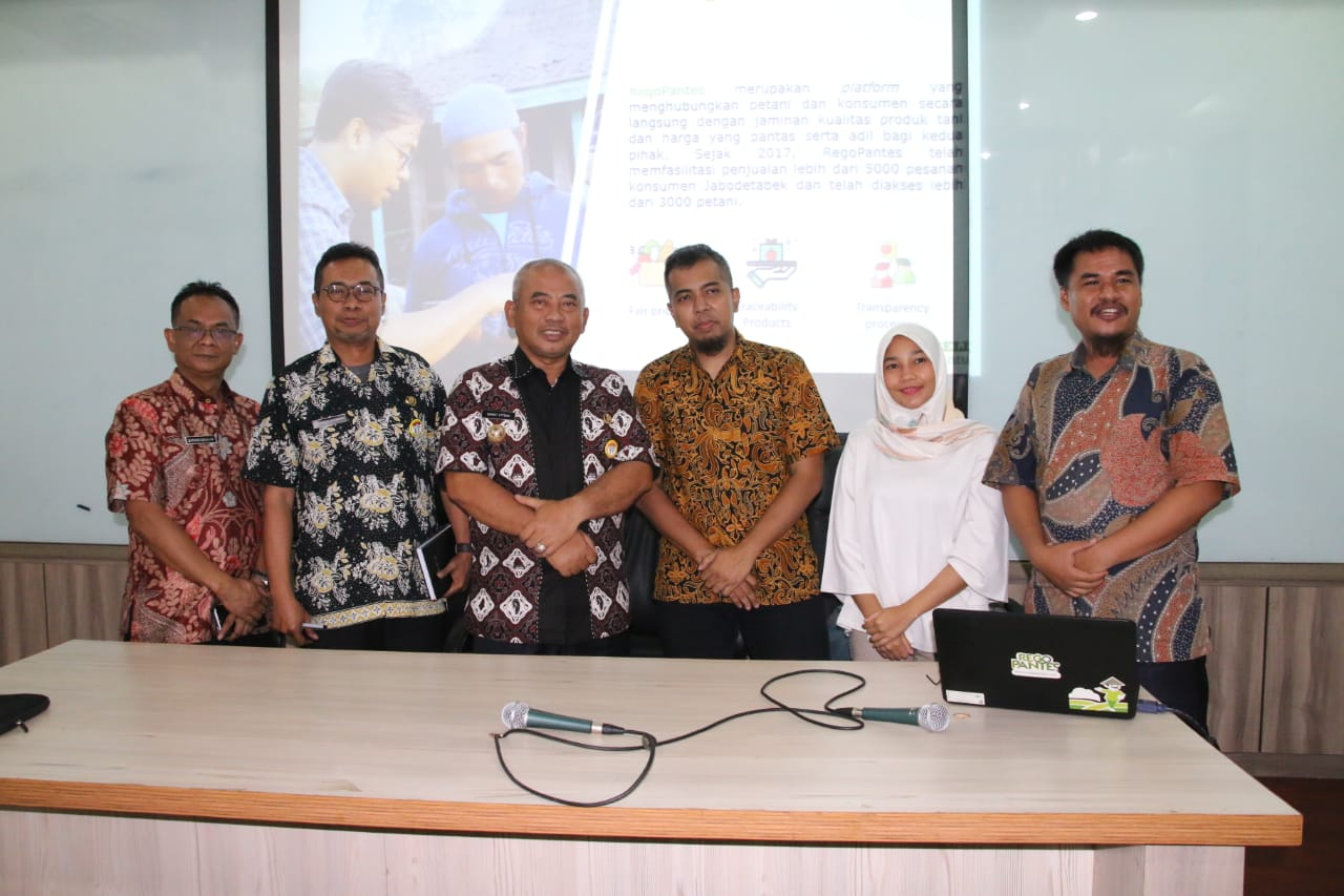 Wali Kota Bekasi Pelajari Sistem RegoPantes Platform.