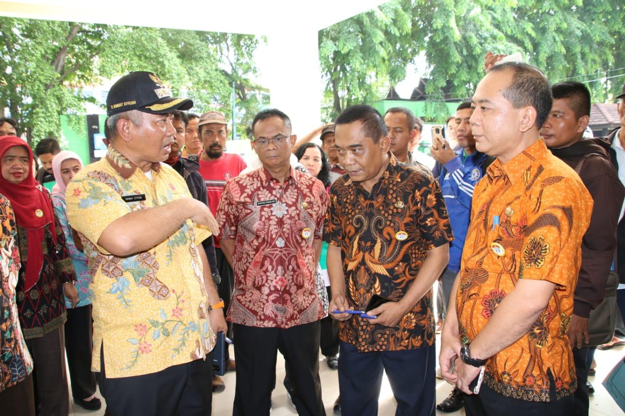 Wali Kota Bekasi Sidak Pelayanan Kecamatan Bekasi Timur, Disdukcasip, dan Badan Pendapatan Daerah