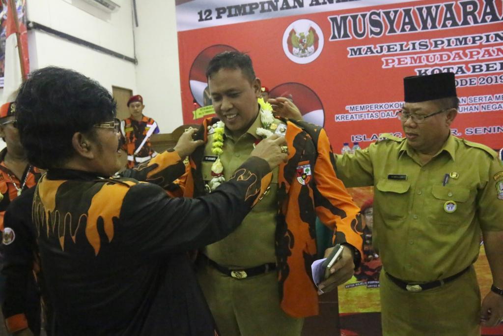 Wakil Wali Kota Hadiri Musyawarah Majelis Pimpinan Cabang Pemuda Pancasila Kota Bekasi