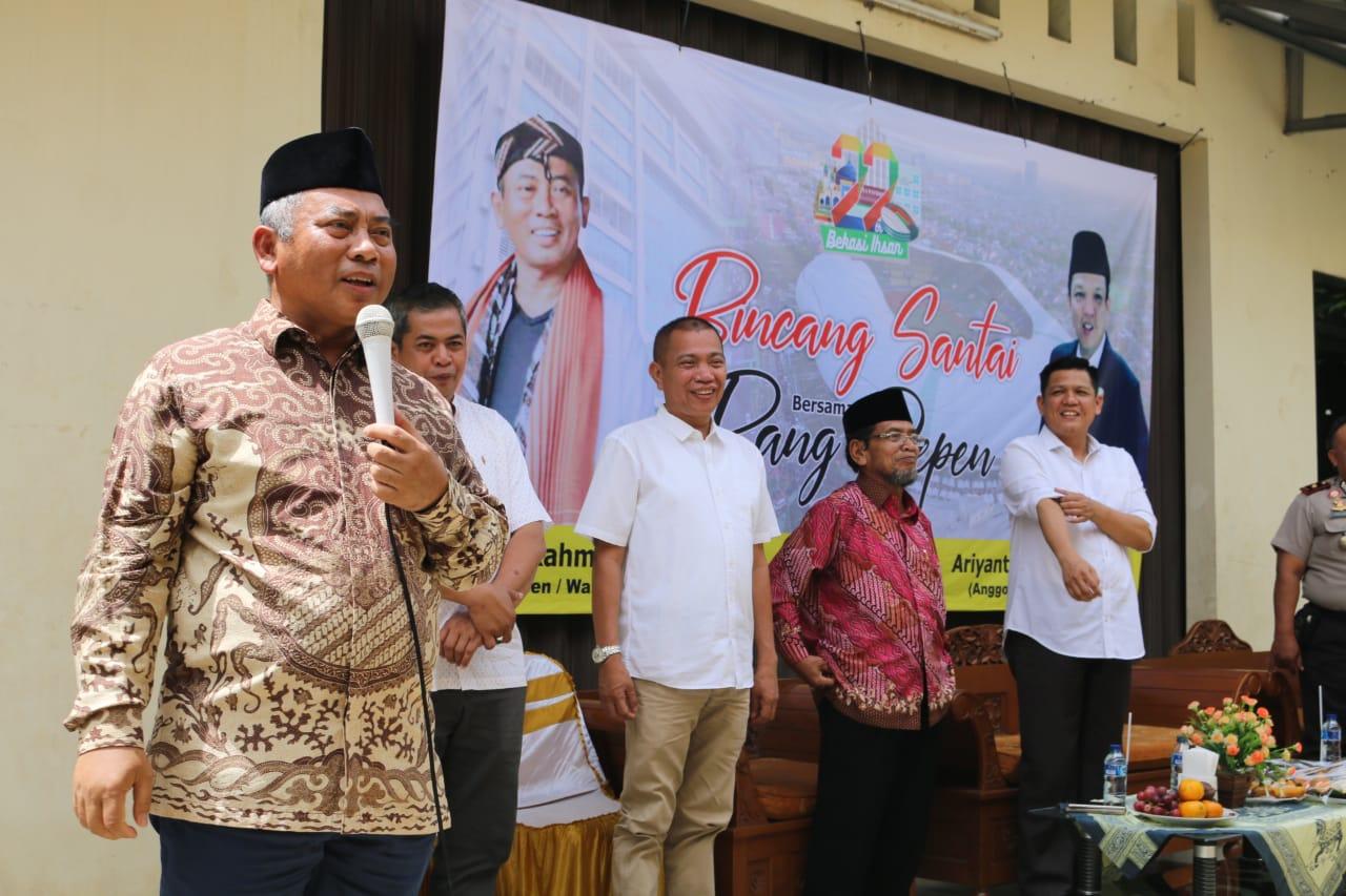 Bincang Santai Wali Kota Bekasi dengan Warga RW 17 Kelurahan Jakasampurna