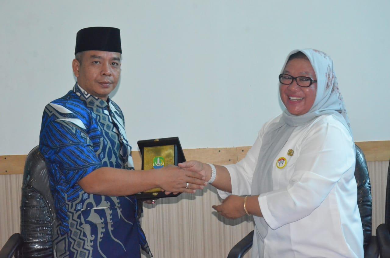 Anggota DPRD Kabupaten Muara Enim lakukan Kunjungan Kerja Ke Kota Bekasi