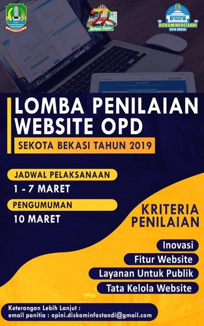 Lomba Penilaian Website OPD se Kota Bekasi