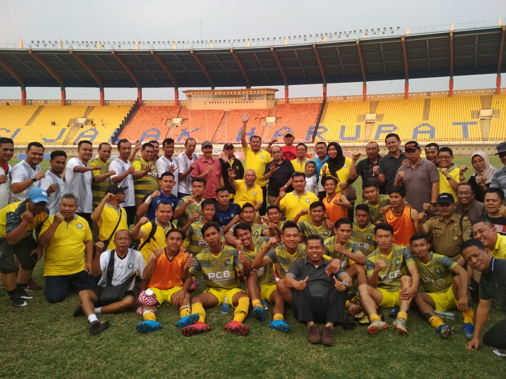 PCB Kota Bekasi Bungkam Persikab Kabupaten Bandung 3-0