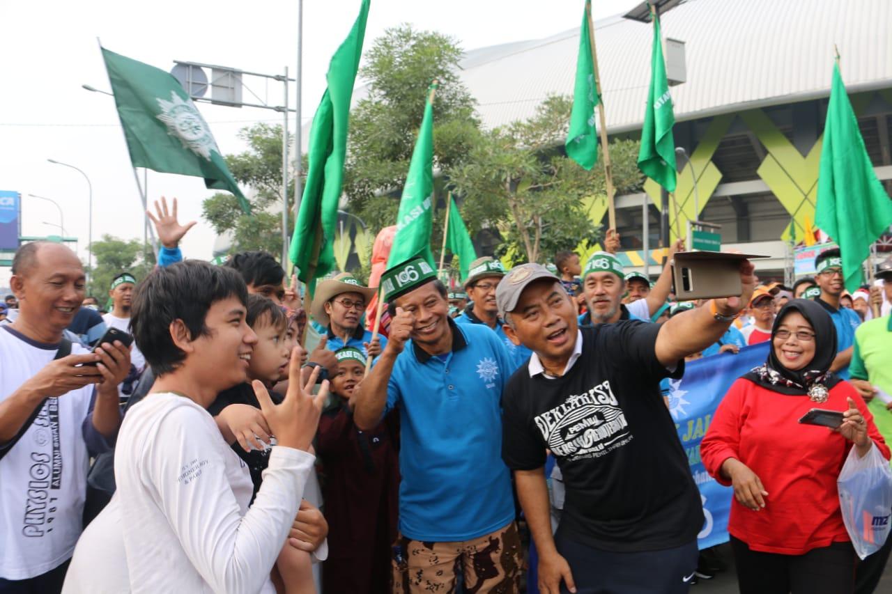 Wali Kota dan Wakil Wali Kota Bekasi Hadir dan Meriahkan Milad Muhammadiyah ke-106
