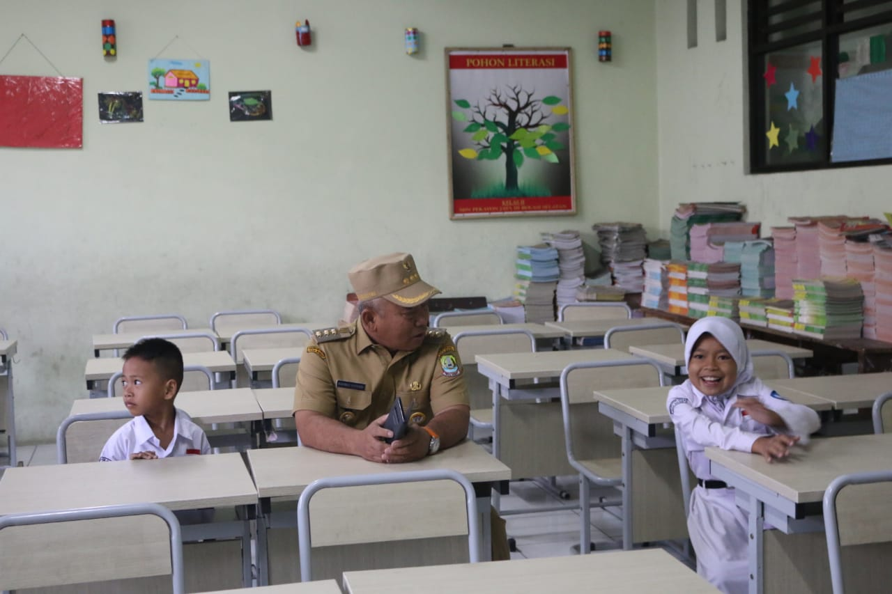 Wali Kota Sidak Ke SDN Pekayon 3 Kota Bekasi