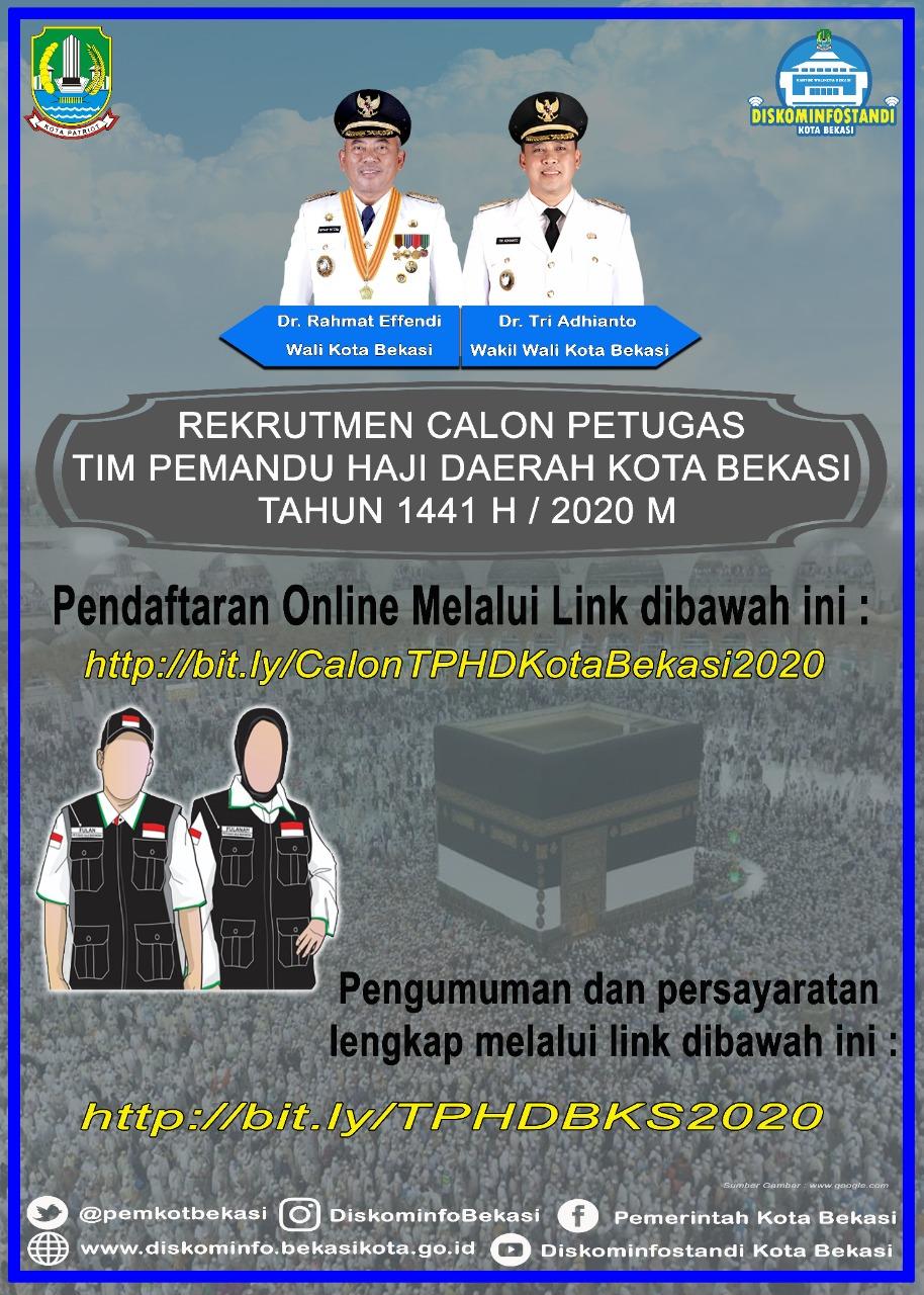 Rekrutmen Calon Petugas Tim Pemandu Haji