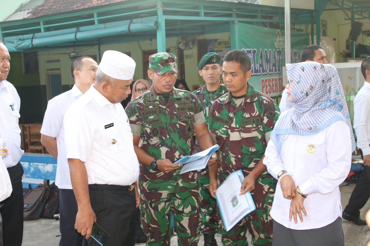 Wali Kota Bekasi KunjungiSDN Bojong Rawalumbu III dan V yang Akan Segera Di Merger